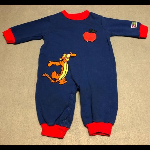 Disney Other - Tiger Footless Bodysuit 🐅🍎